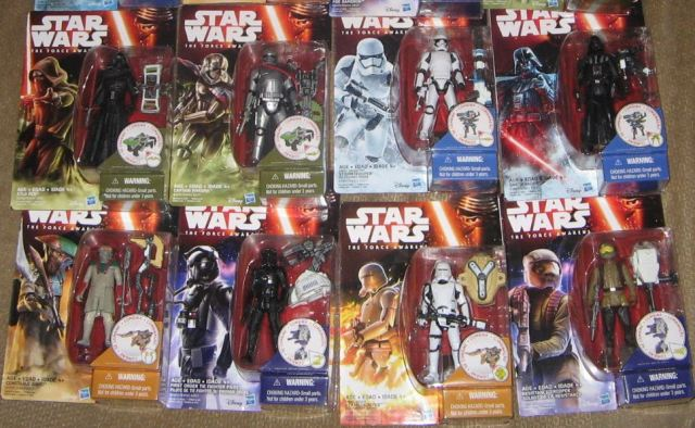 Star Wars Episode VII action figures B eBay