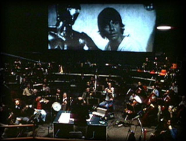 John Williams conducting Star Wars