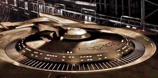 USS Discovery Comic Con clip