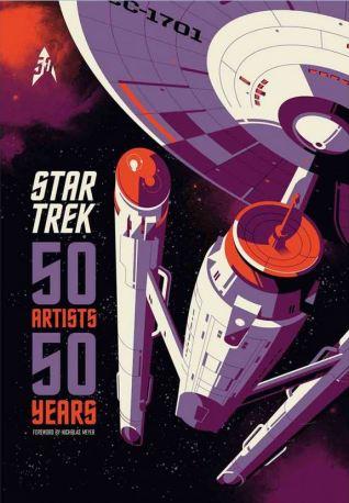 50 Years 50 Artists book Star Trek