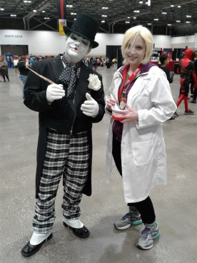 KCCC 2016 Joker and Liv Moore cosplay