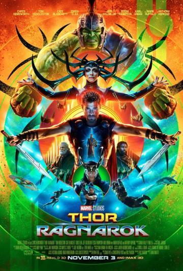 Thor poster comic-con 2017