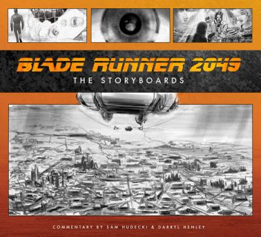 Blade Runner Storyboards cover