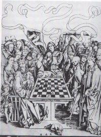 Impresión grabada por el monogramista BR & Anchor - finales del siglo XV.