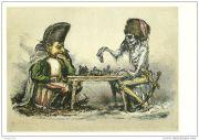 Litografía de Paul Weber, que se refiere a la retirada de Napoleón de Moscú.