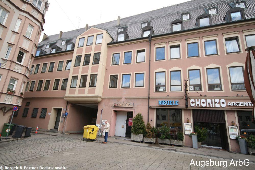 Augsburg Arbeitsgericht