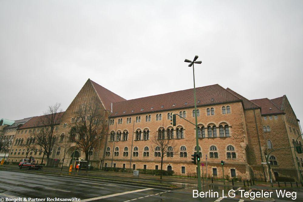 Berlin Landgericht Tegeler Weg