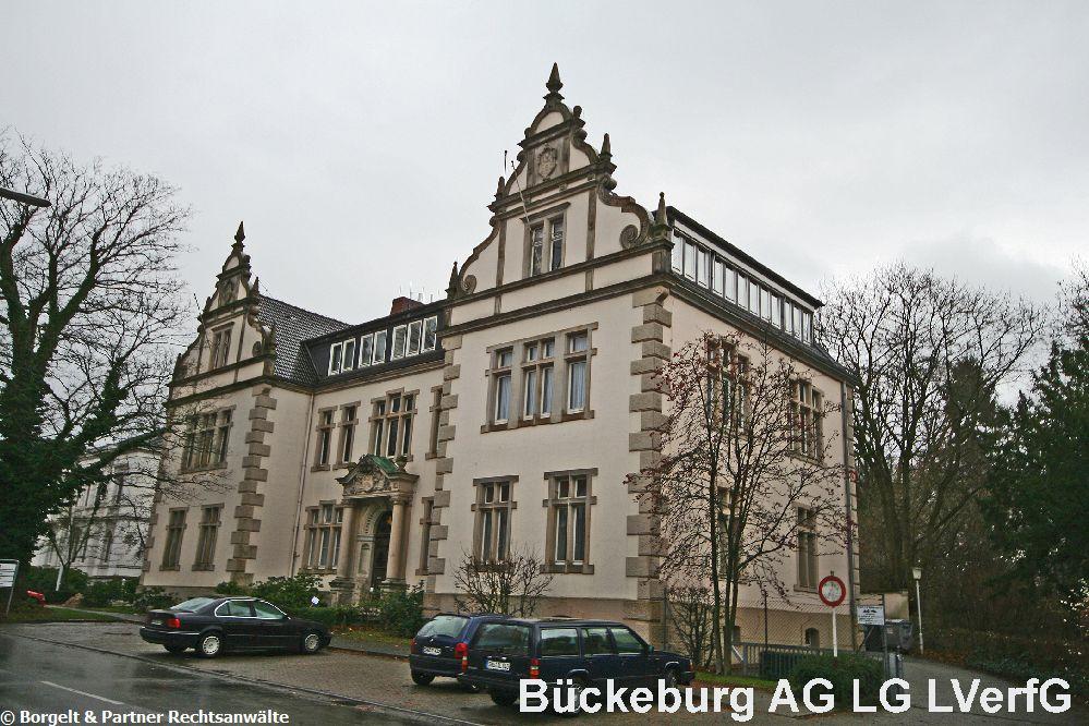 Bueckeburg Landgericht