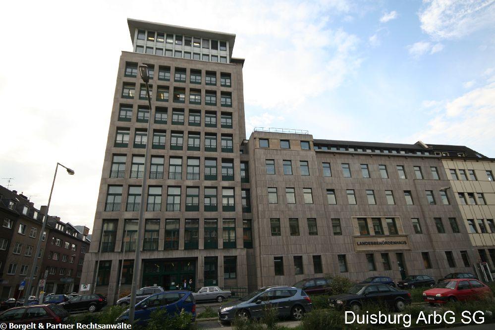 Duisburg Arbeitsgericht