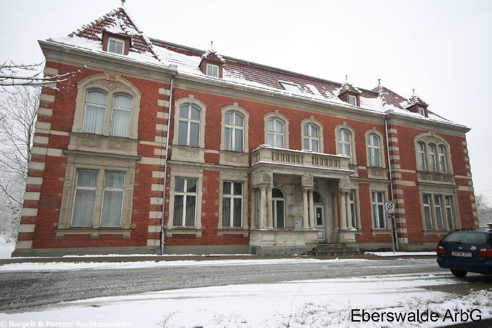 Eberswalde Arbeitsgericht