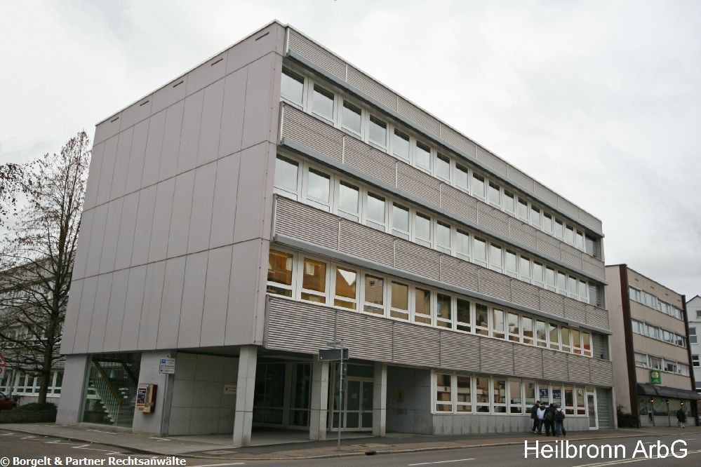 Heilbronn Arbeitsgericht