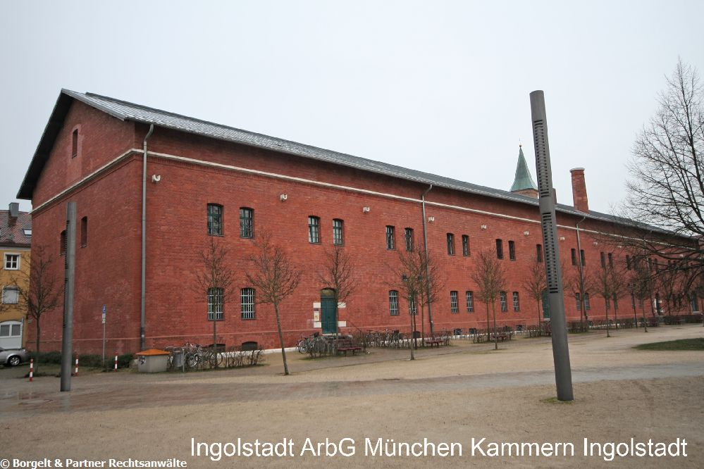 Ingolstadt Arbeitsgericht