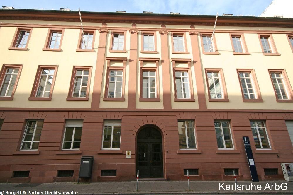 Karlsruhe Arbeitsgericht
