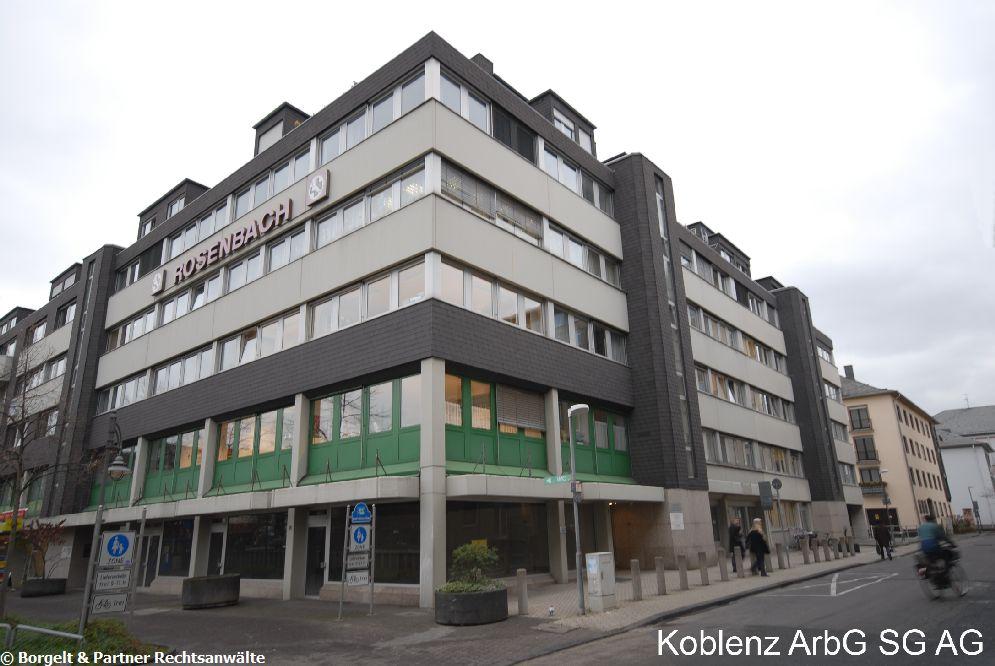 Koblenz Arbeitsgericht