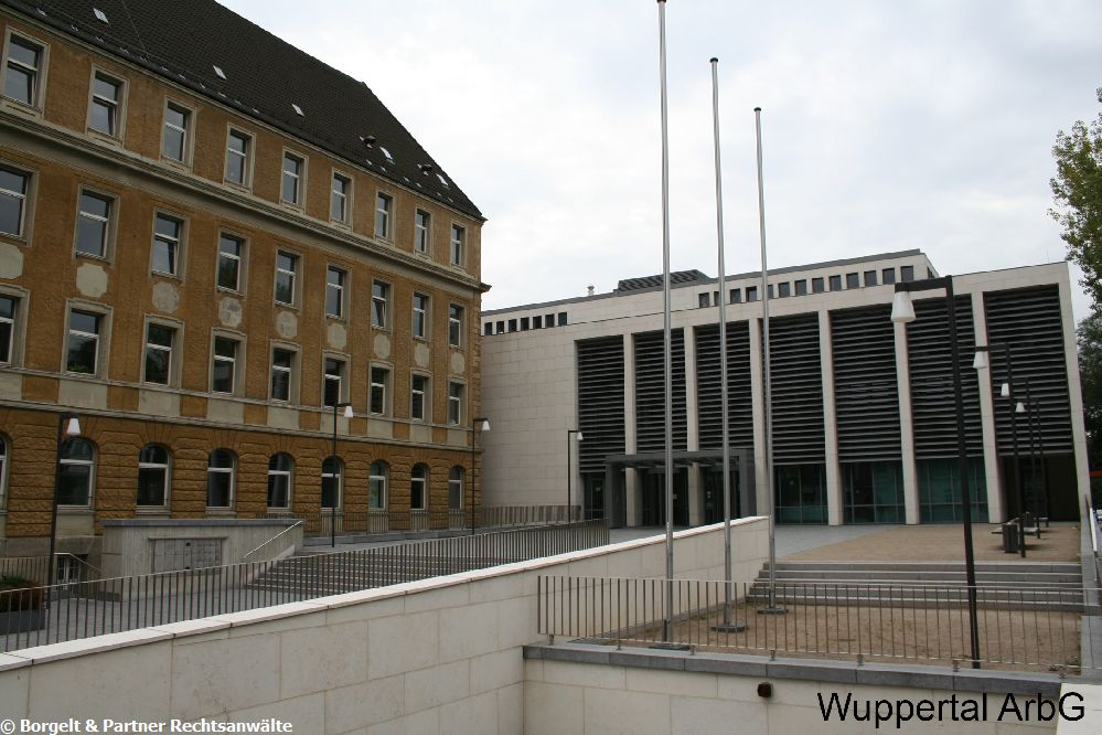 Wuppertal Arbeitsgericht