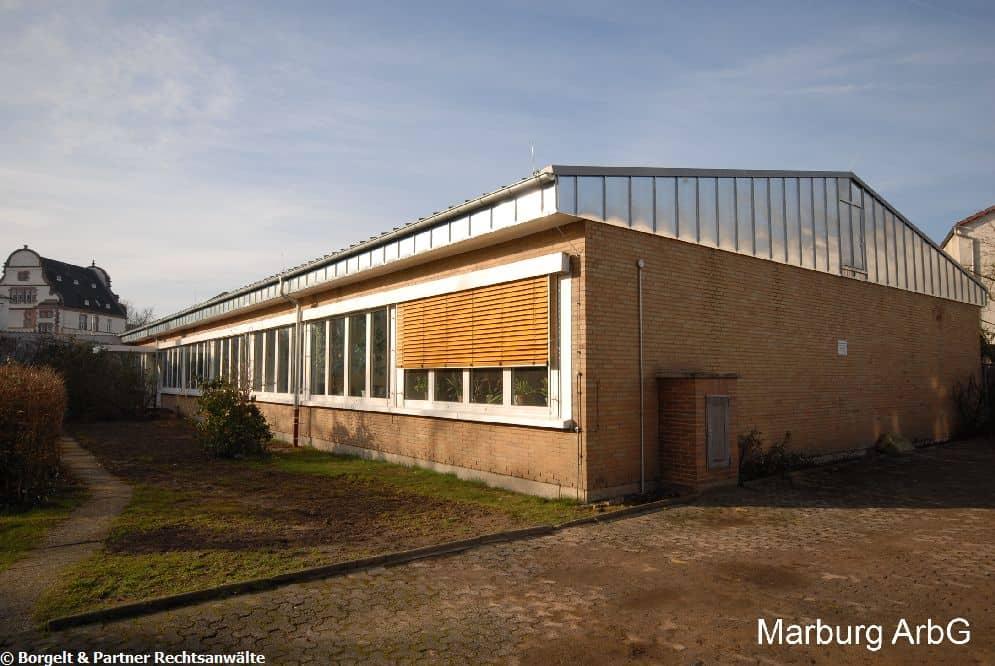Marburg Arbeitsgericht