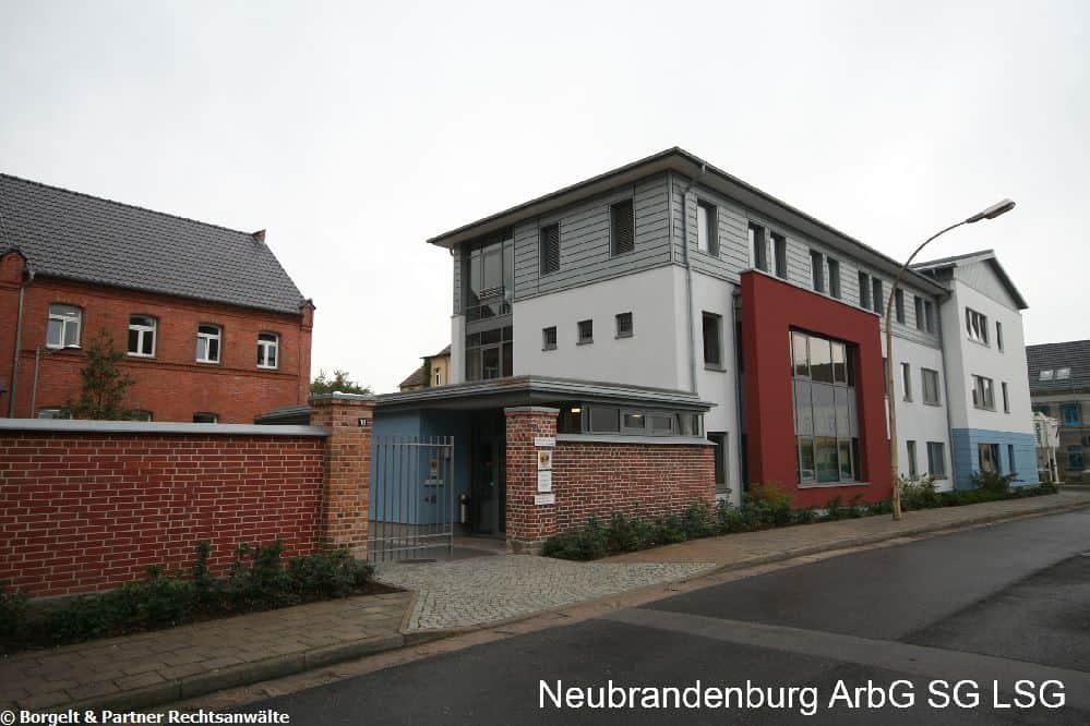 Neubrandenburg Arbeitsgericht
