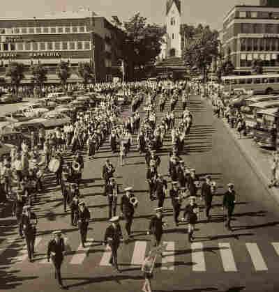 Borgemusikken under Hamarfestivalen