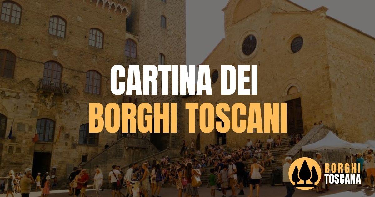 Cartina Toscana Provincia Di Siena.Cartina Dei Borghi Toscani Cerca Un Borgo Borghi Toscana