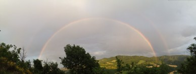 It's about that time when we need to take a minute and appreciate a gorgeous double rainbow.
