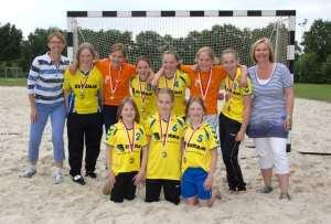 1 Borhave C1 kampioen e1339401090576 - Beachhandbal C-jeugd kampioen afdeling Twente