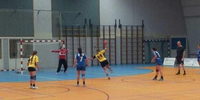 20131201 Borhave Bevo 2 - Borhave dames winnen met duidelijk verschil van BEVO Panningen 26-18