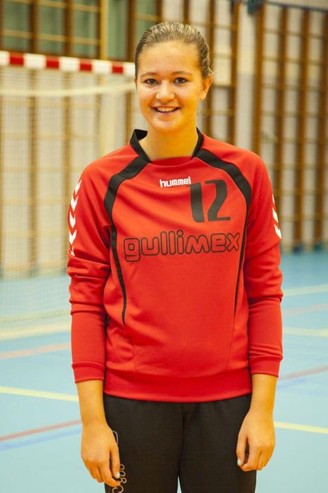 Nr 12 Danique Trooster - Danique Trooster in selectie  Jong-jong Oranje