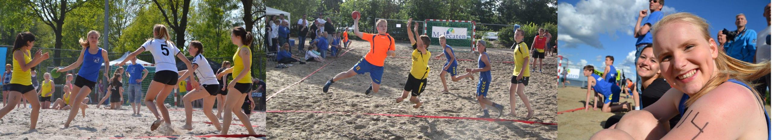 beach banner - Inschrijvingen op ons Beachtoernooi 2016 tot nu toe (Meisjes D-, C- en B-jeugd vol)