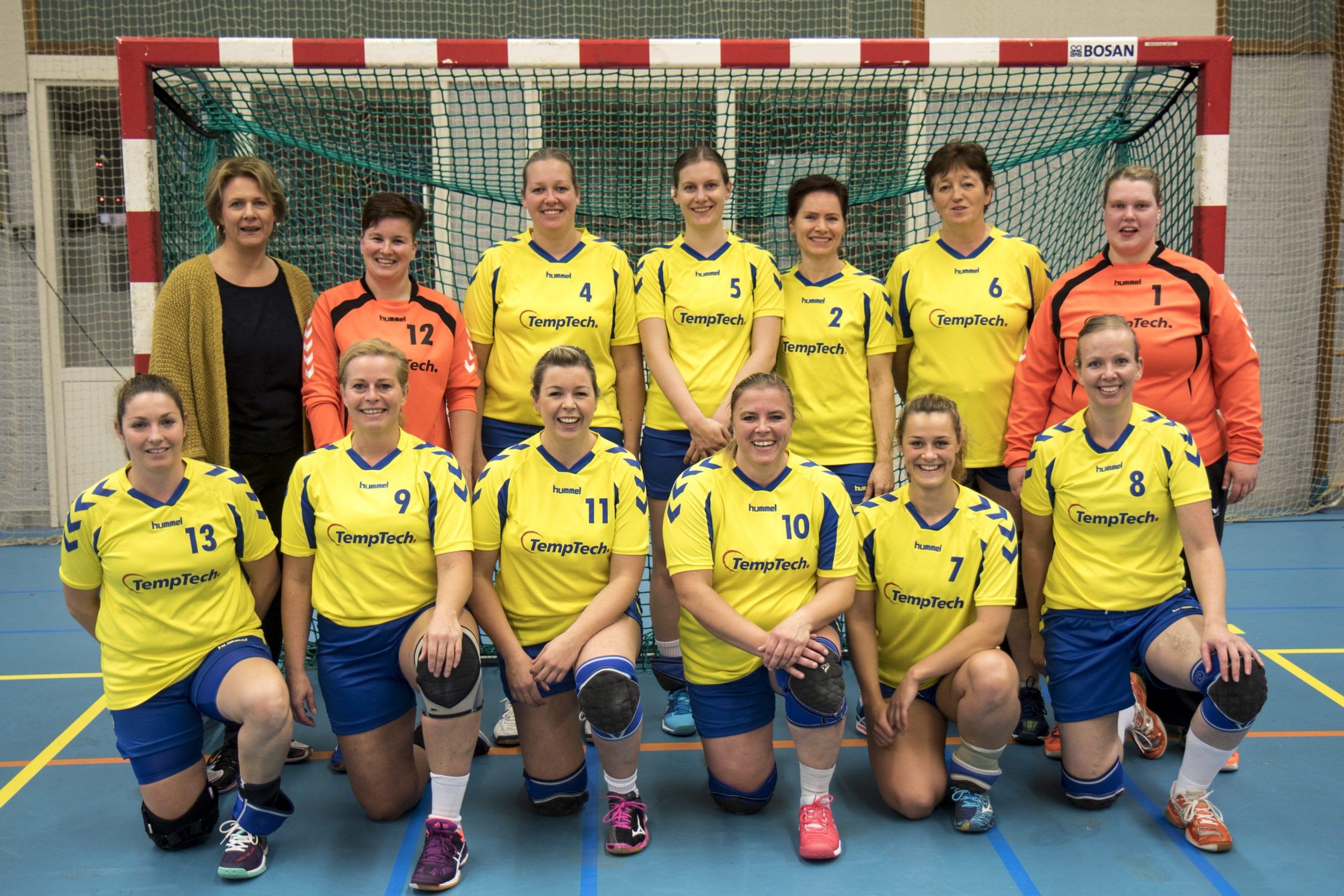 Borhave dames 2 - seizoen 2017/2018