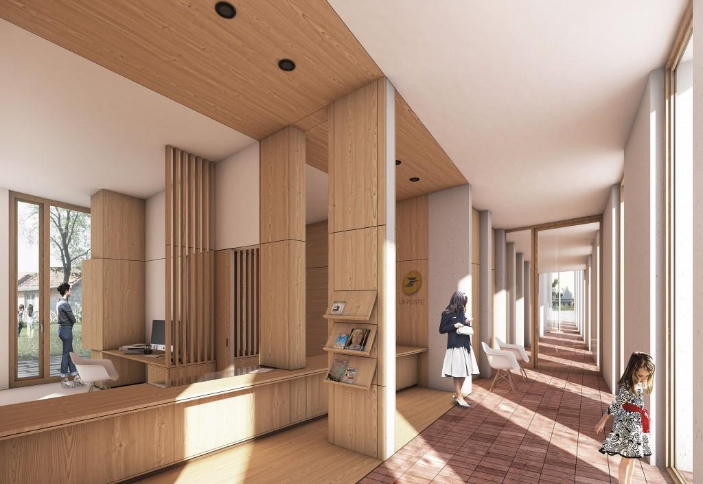 Construction de la nouvelle mairie de Paslires  Boris Bouchet Architectes