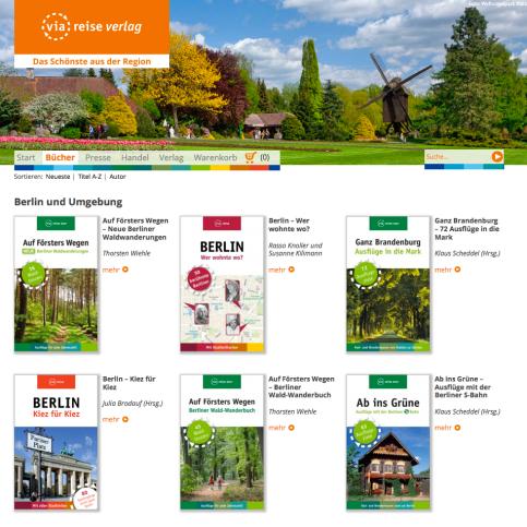 Katalog des via reise verlags