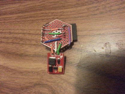 5V step up and serial communication.