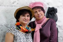 Ирина Павлова и Вера Корсун