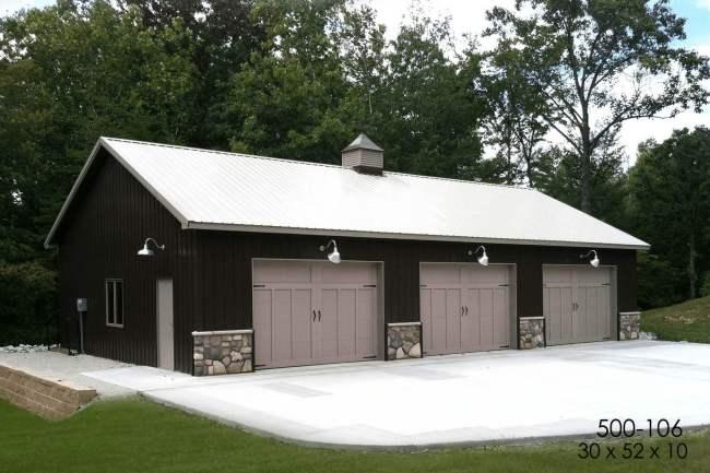 suburban garage hobby shop
