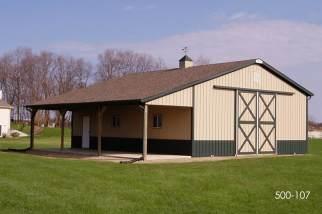 residential storage building