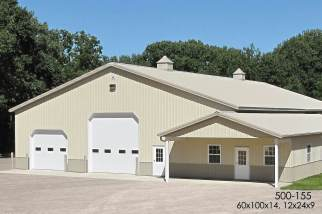 commercial pole barn