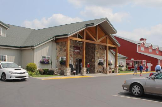 post frame retail restaurant meat shop