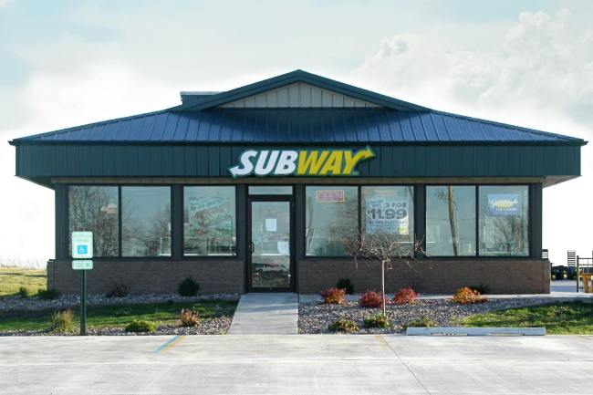 post frame restaurant subway