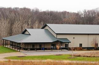 post frame camp facility recreation building