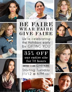 Faire Collection is Having a HUGE Sale!