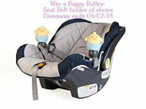 The Buggy Buttons Adorable Seat Belt Holders a Must Have for your Baby!