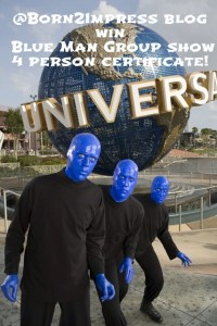 Blue Man Group Show in Universal Orlando is a Must See this Summer! Review and Giveaway
