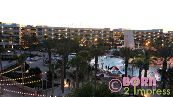 Cabana Bay Night view