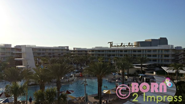 Cabana Bay outside view