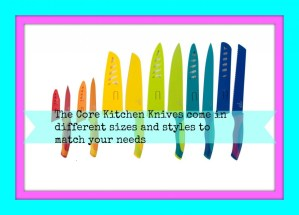 Core Kitchen Offers a Fun and Brightly Colored Variety of Knives -Review & Giveaway