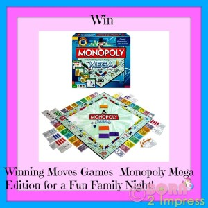 Winning Moves Games  Monopoly Mega Edition for a Fun Family Night – Review and Giveaway