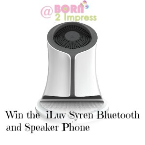 Loving the  iLuv Syren Bluetooth and Speaker Phone – Review and Giveaway