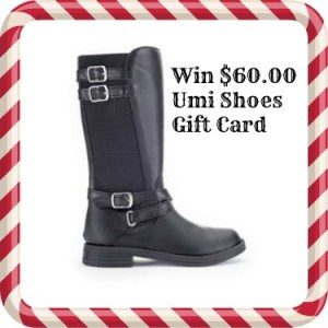 Born 2 Impress Holiday Gift Guide- Umi Shoes $60.00 Gift Card.