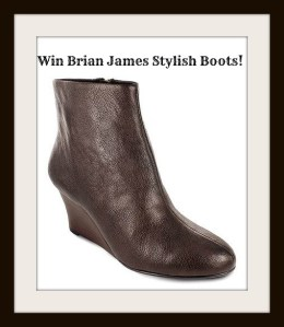 Stylish and Comfortable Brian James Wedge Booties a Must Have For The Holidays
