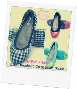 Ja-Vie Flats- The Perfect Summer Shoe!